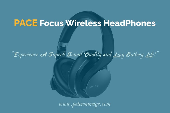 PACE Focus Bluetooth Headphones