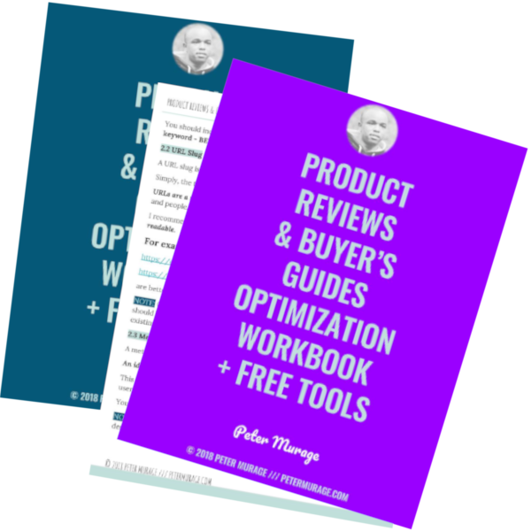 Free Product Reviews Optimization Workbook
